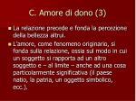 c amore di dono 3