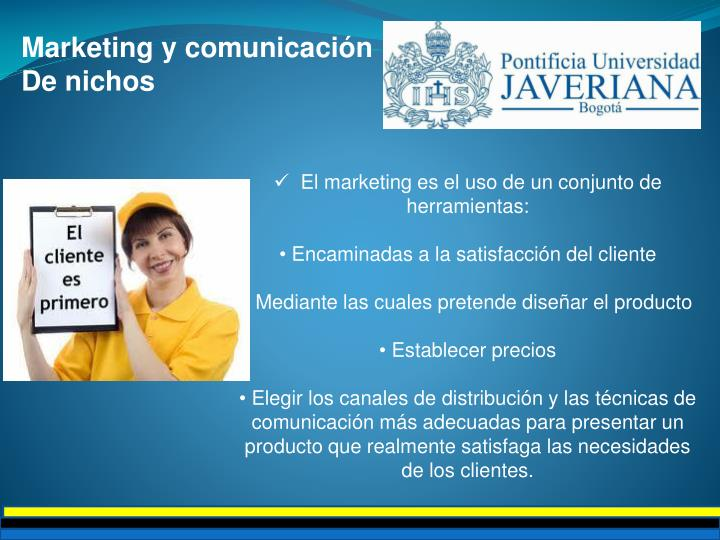 Marketing y comunicación