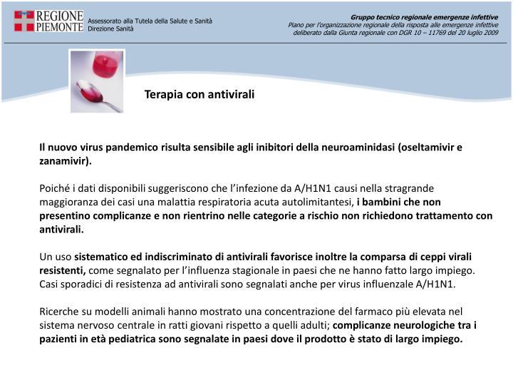 Terapia con antivirali