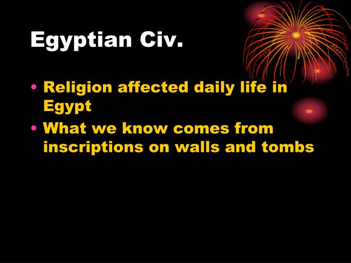 Egyptian civ