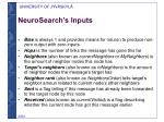 neurosearch s inputs1