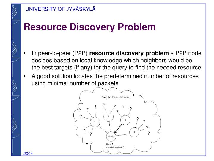 Resource Discovery Problem