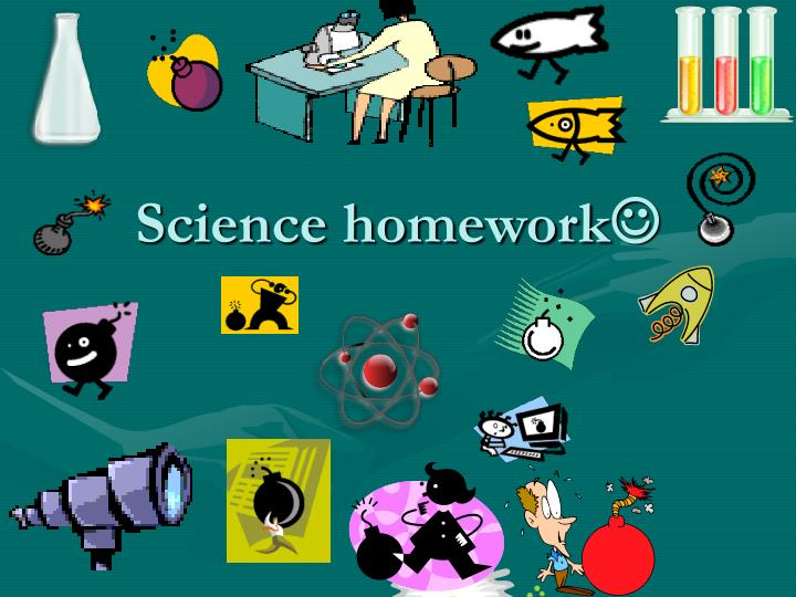 Help me do my science homework