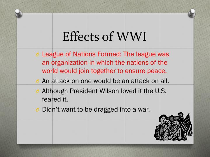 Effects of WWI