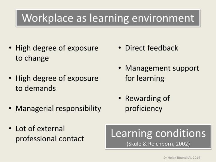 bsbled501a develop a workplace learning environment Leadership and decision quality in a dynamic environment 10449nat diploma of facilitation service or bsbled501a develop a workplace learning.