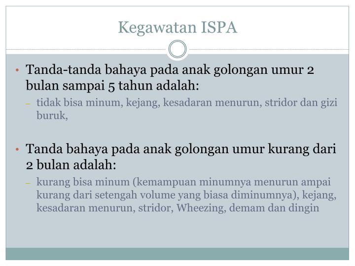 Kegawatan ISPA