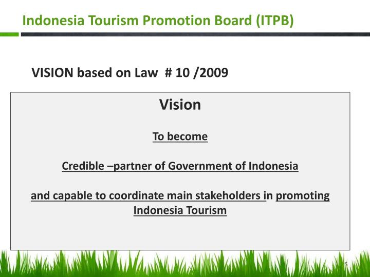 Indonesia Tourism Promotion Board (ITPB)