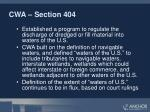 cwa section 404