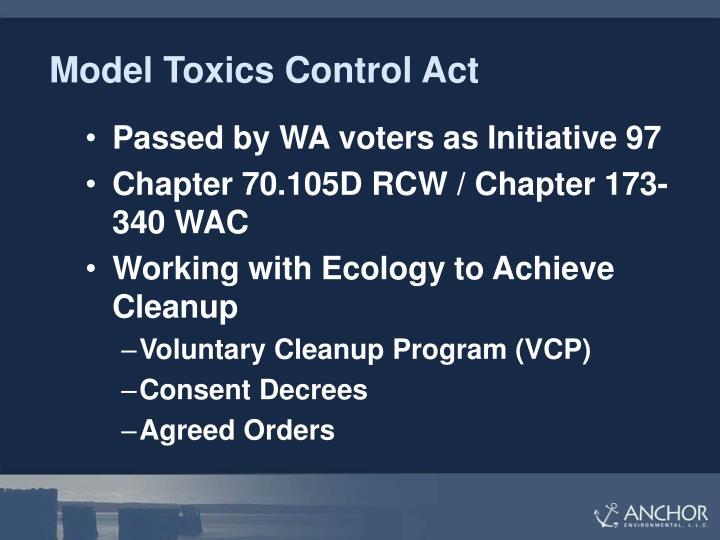 Model Toxics Control Act