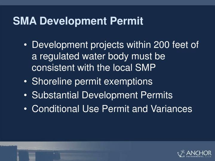 SMA Development Permit