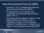 state environmental policy act sepa