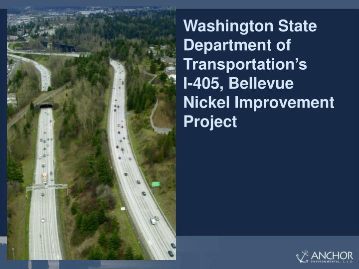 Washington State Department of Transportation's