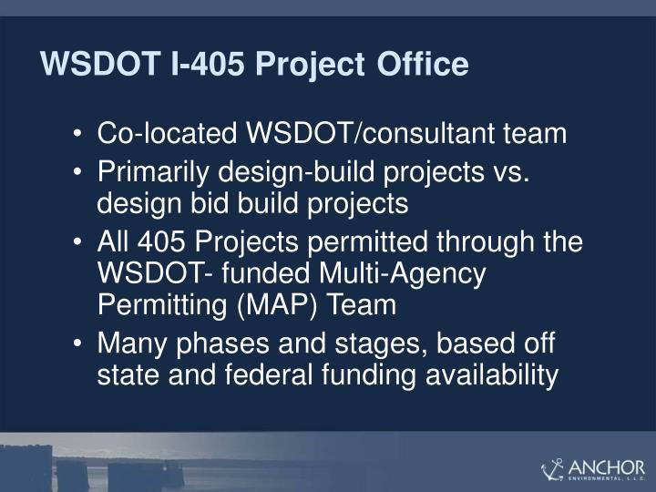 WSDOT I-405 Project Office