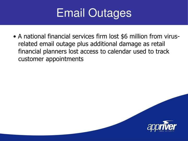 Email Outages