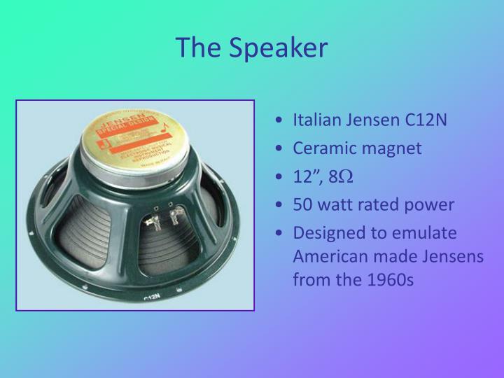 Italian Jensen C12N