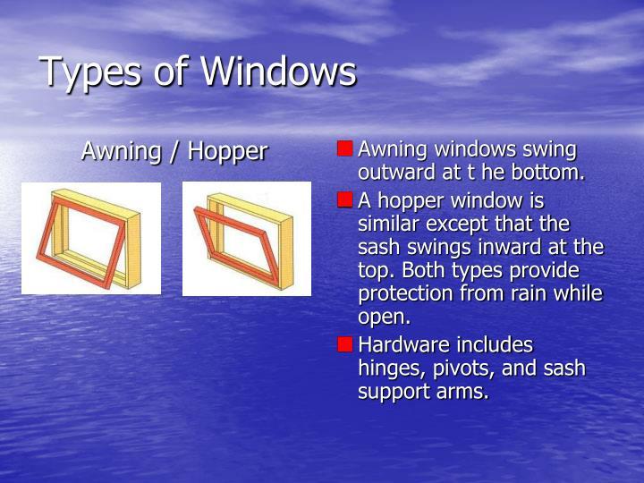 Awning / Hopper