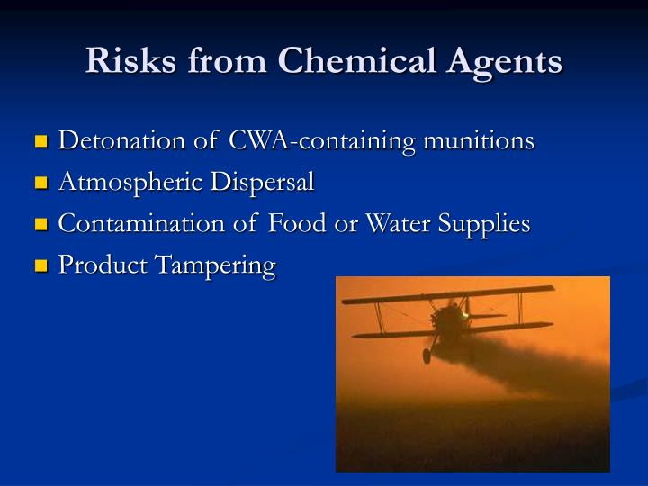 Risks from Chemical Agents