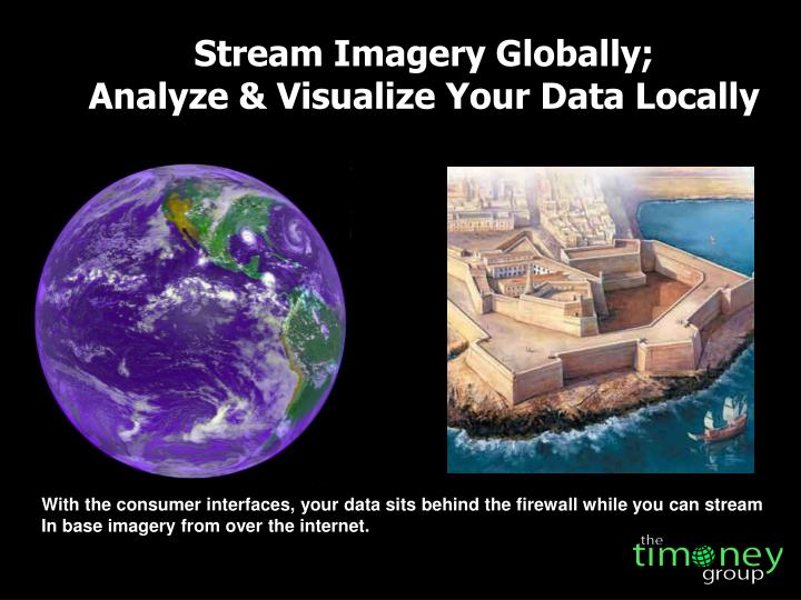 Stream Imagery Globally;