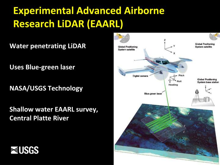 Experimental Advanced Airborne Research LiDAR (EAARL)