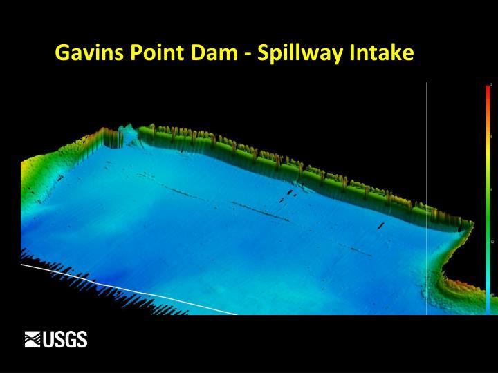 Gavins Point Dam - Spillway Intake