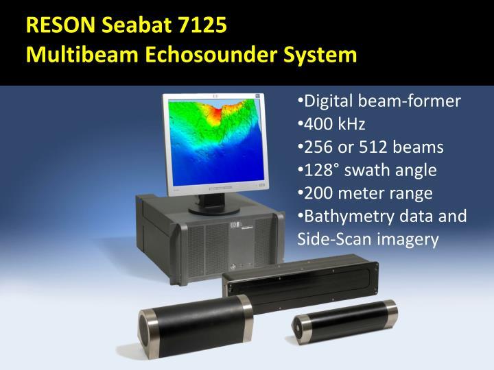 RESON Seabat 7125
