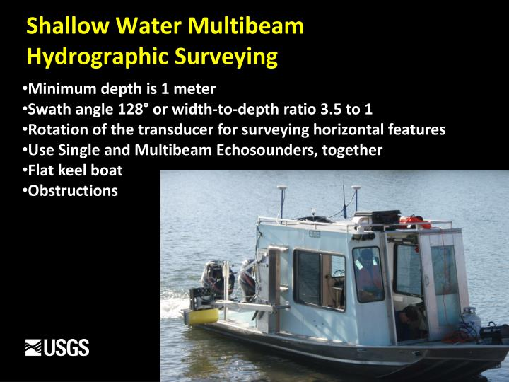Shallow Water Multibeam