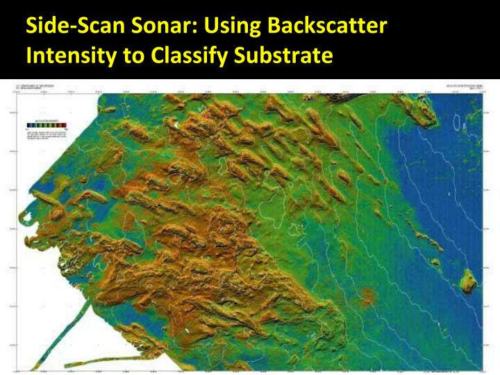 Side-Scan Sonar: Using Backscatter Intensity to Classify Substrate