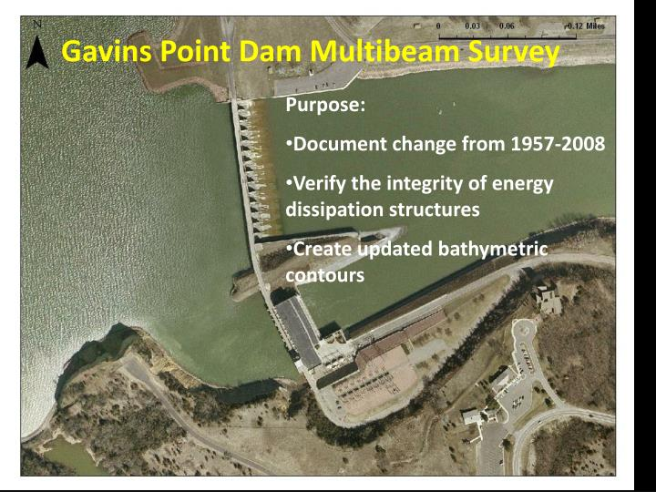 Gavins Point Dam Multibeam Survey