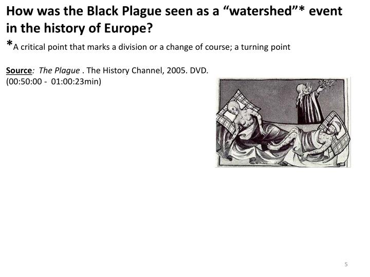 which event the black death or Medieval and middle ages history timelines - the black death.