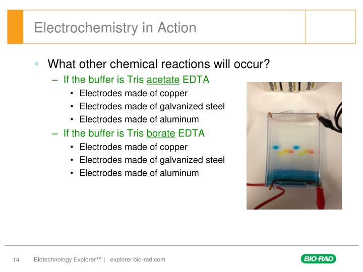 Electrochemistry in Action