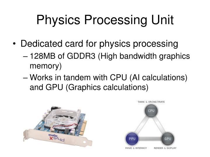 Physics Processing Unit
