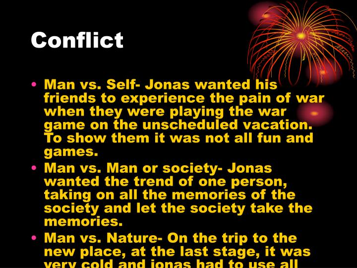 Person Vs Nature Conflict In The Giver