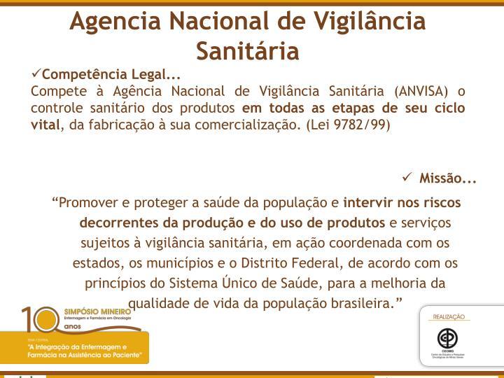 Agencia Nacional de Vigilância Sanitária
