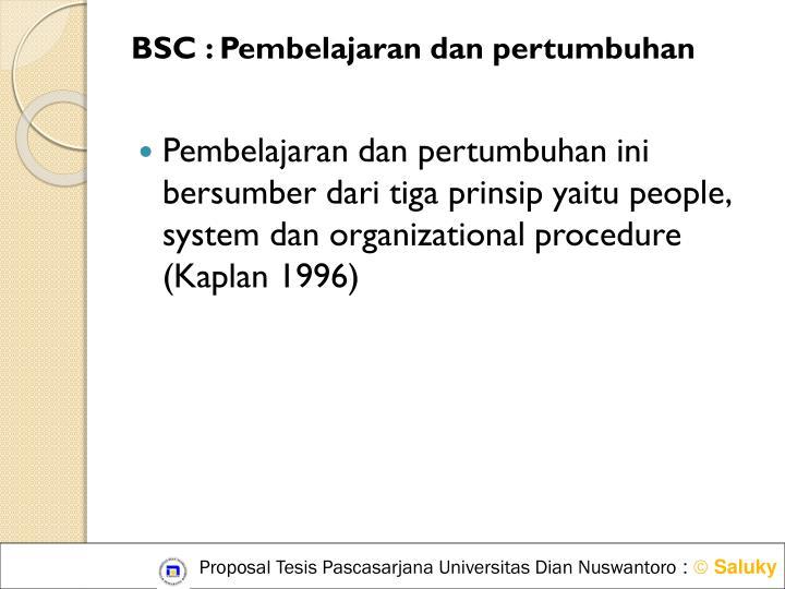 BSC :