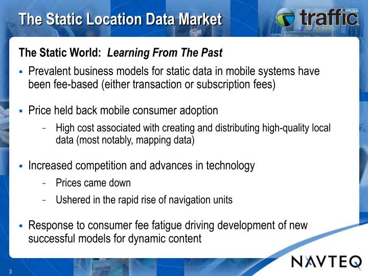 The Static Location Data Market