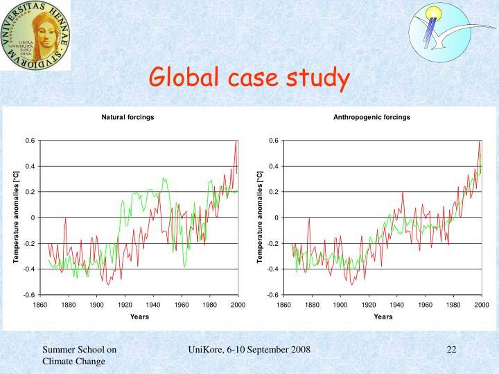 Global case study