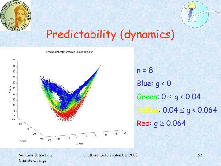 Predictability (dynamics)