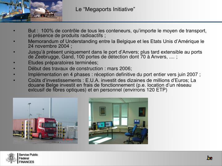"""Le """"Megaports Initiative"""""""