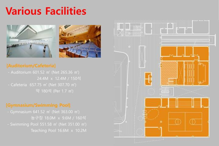Various Facilities
