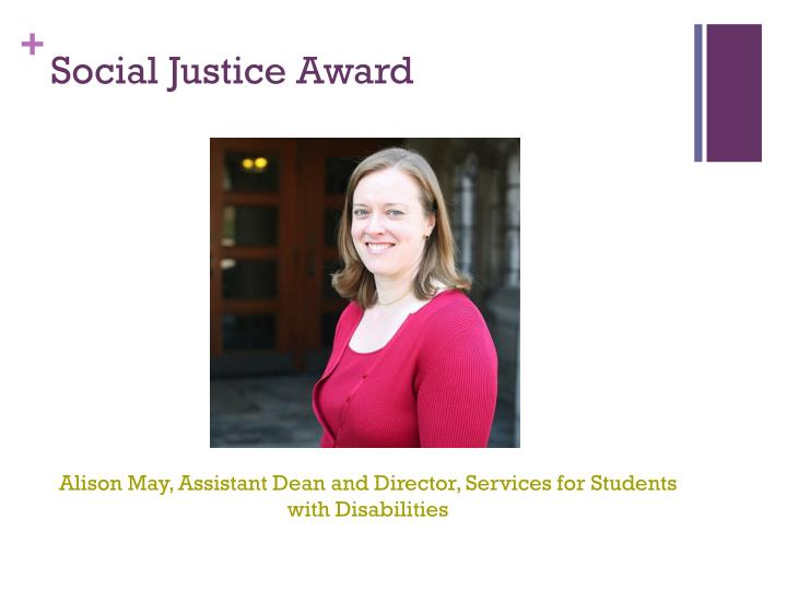 Social Justice Award