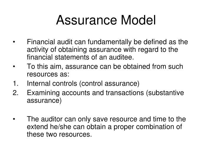 Assurance Model