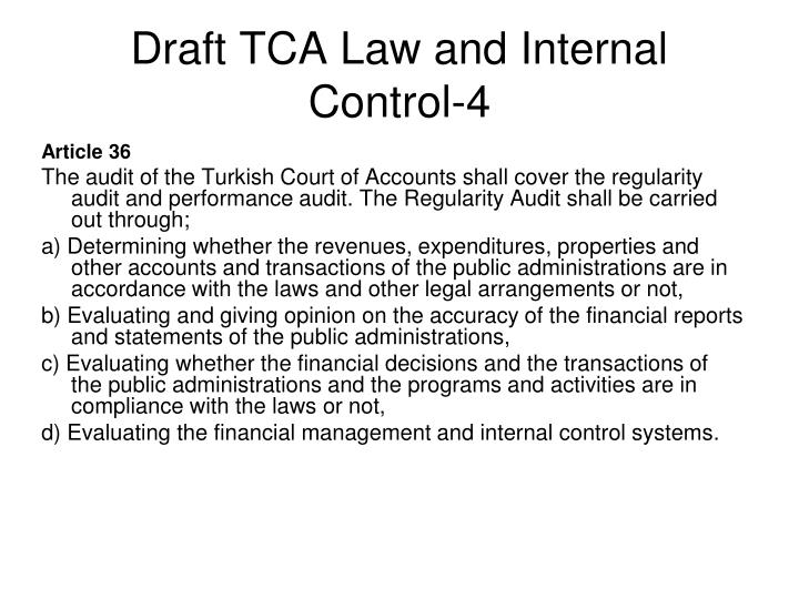 Draft TCA Law and Internal Control-4