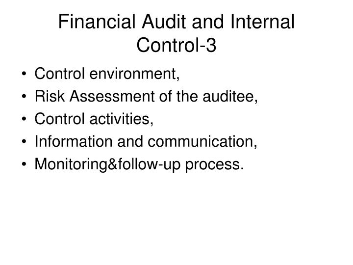 Financial Audit and Internal Control-3