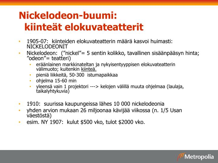 Nickelodeon-buumi: