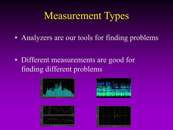 Measurement Types