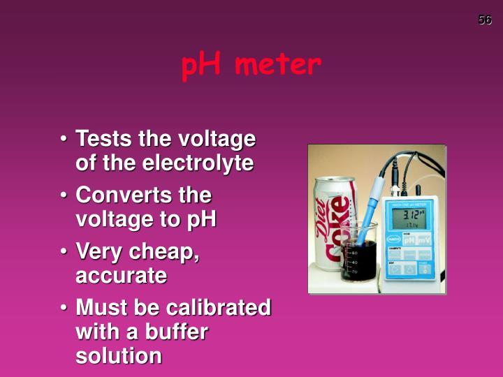 pH meter