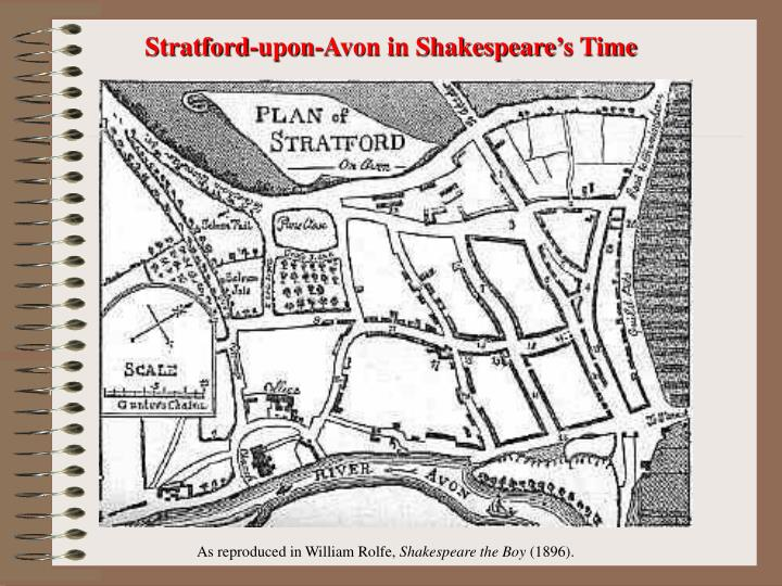 Stratford-upon-Avon in Shakespeare's Time