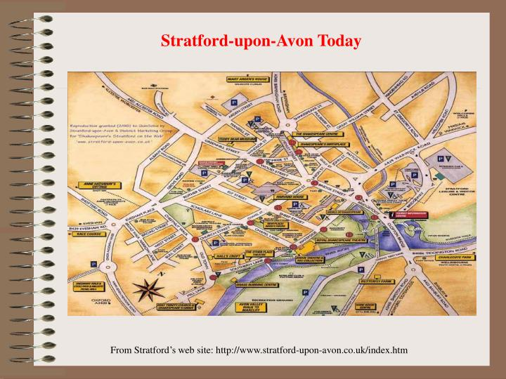 Stratford-upon-Avon Today