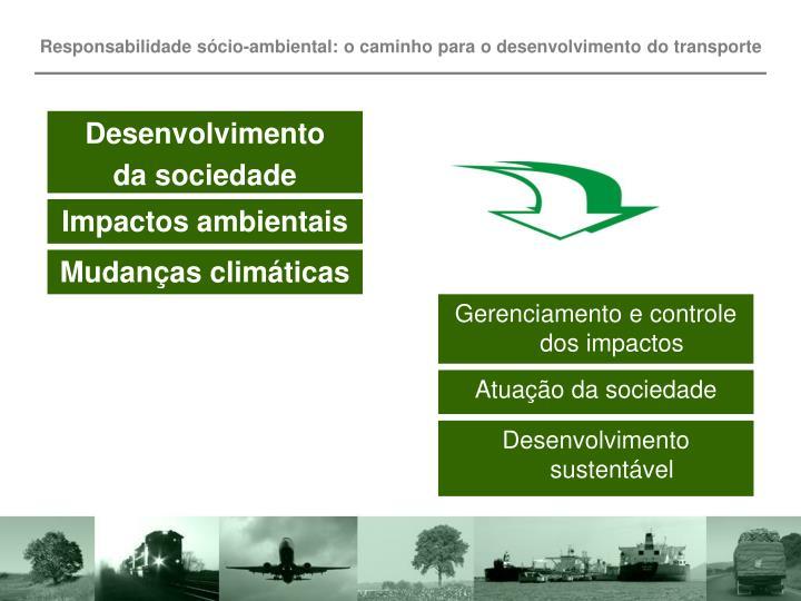 Responsabilidade sócio-ambiental: o caminho para o desenvolvimento do transporte