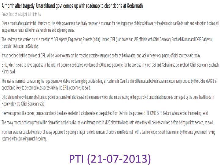PTI (21-07-2013)